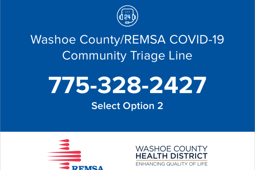 triage line - call 775-328-2427